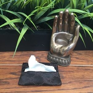 Accessories - Purse Tissue Holder made from Auth Gucci Dustbag
